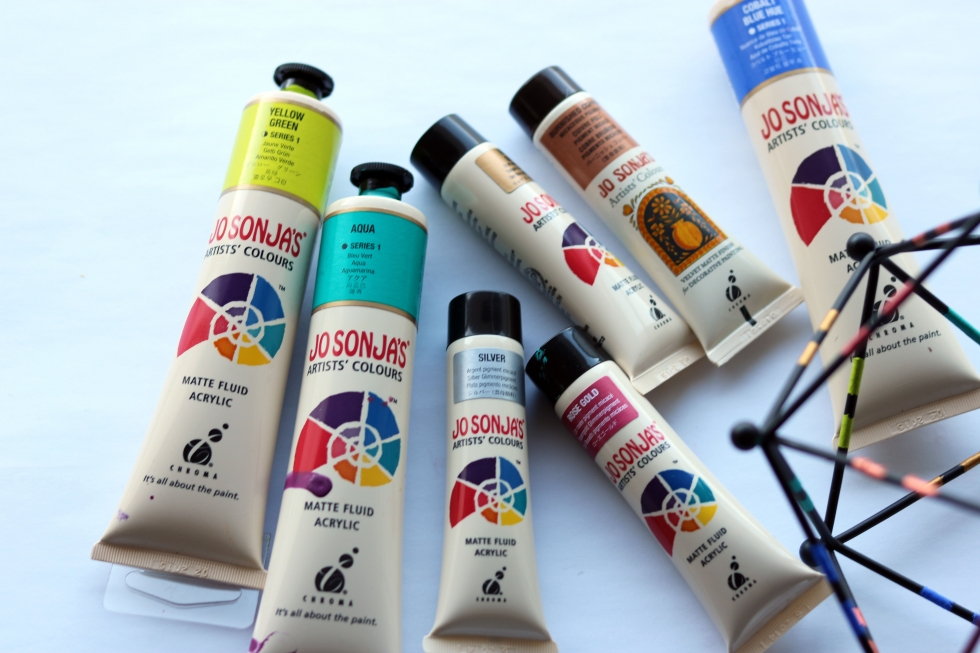 Moments by Charlie | Creative Lifestyle Blog | Jo Sonja's Acrylic Paints