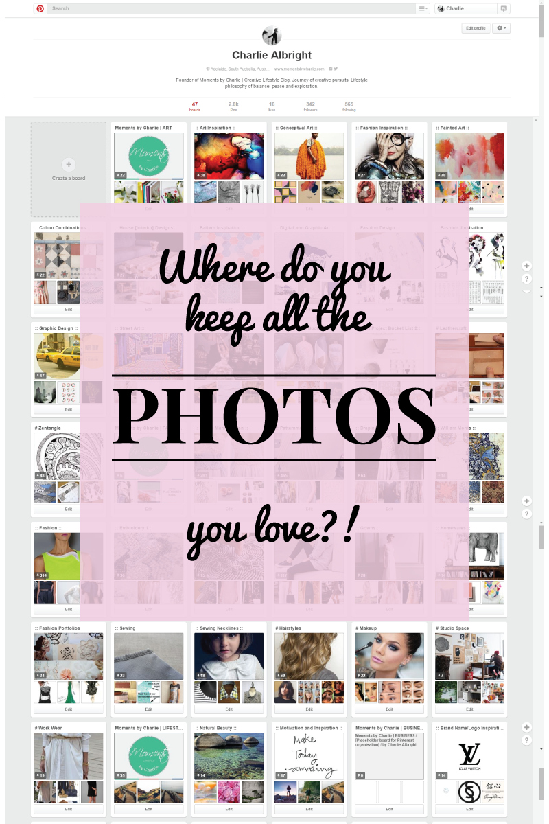 Moments by Charlie on Pinterest   Creative Lifestyle Blog   Art Fashion Lifestyle Photography   Made in Adelaide, Australia