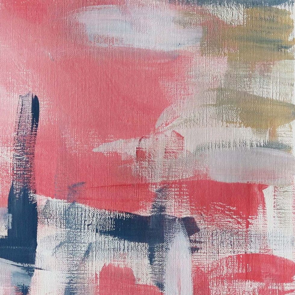 Abstract Art Painting Inspiration // Moments by Charlie Albright | Creative Lifestyle Blog | Art + Fashion + Lifestyle plus Photography | Society 6 Art Print