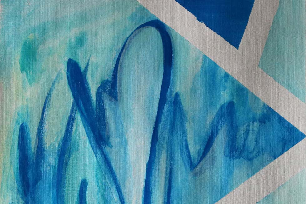 August Makes - Art Edition - Abstract Art Painting // Moments by Charlie | Art + Fashion + Lifestyle plus Photography | Made in Australia