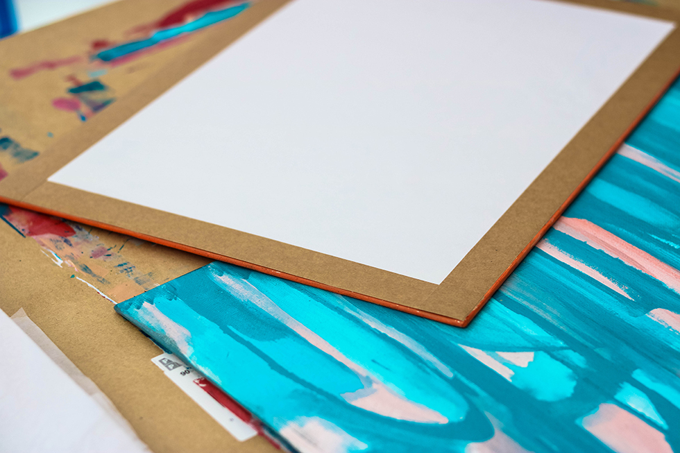 How To Finish The Back Of Art On Canvas Panel