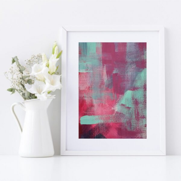 Abstract Fine Art Giclee Print Titled Skater Denim 1 in Size A4   By Adelaide Abstract Artist Charlie Albright   Moments by Charlie Blog - Online Shop - Creative Freelance Services   Adelaide, South Australia