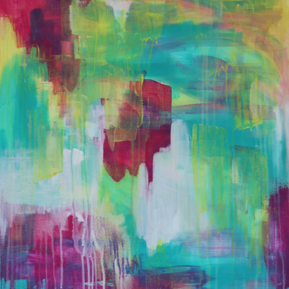 Abstract Acrylic Canvas Art - Nightingale by Charlie Albright   Moments by Charlie   Creative Abstract Artist, Photographer and Blogger   Made in Adelaide, Australia