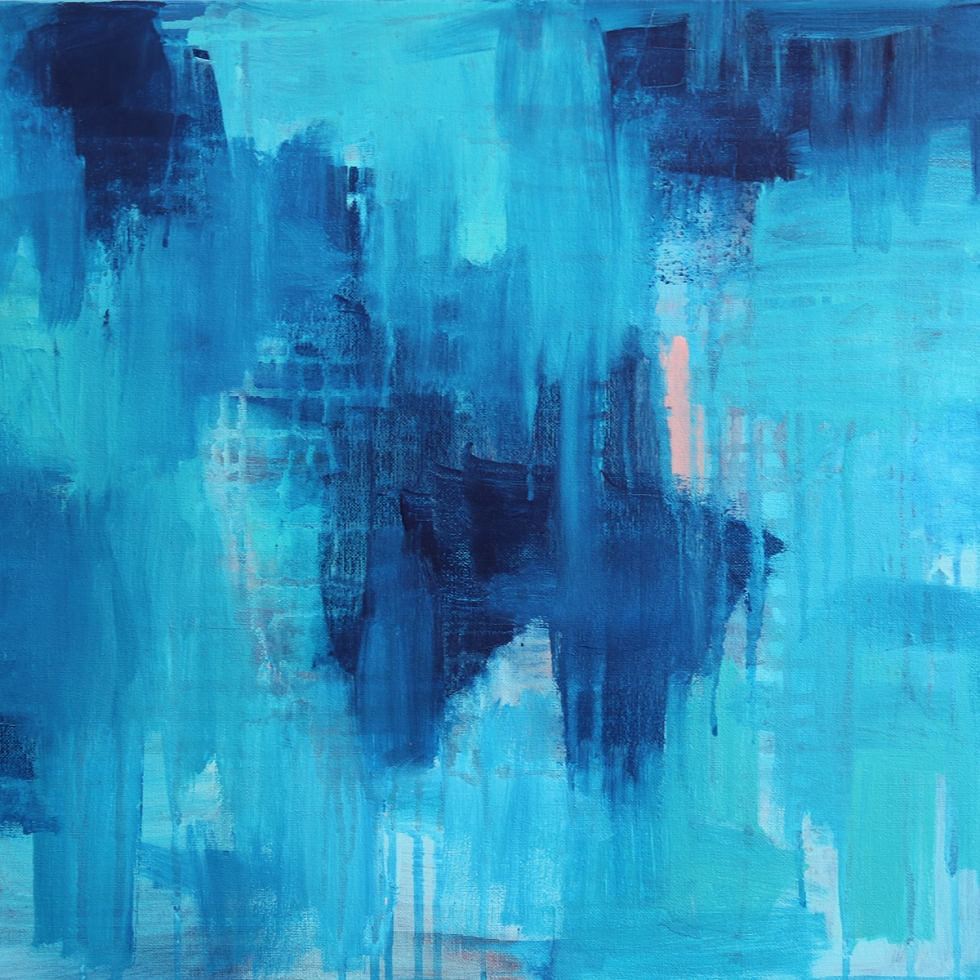 Abstract Acrylic Canvas Art - One Day In Summer by Charlie Albright   Moments by Charlie   Creative Abstract Artist, Photographer and Blogger   Made in Adelaide, Australia