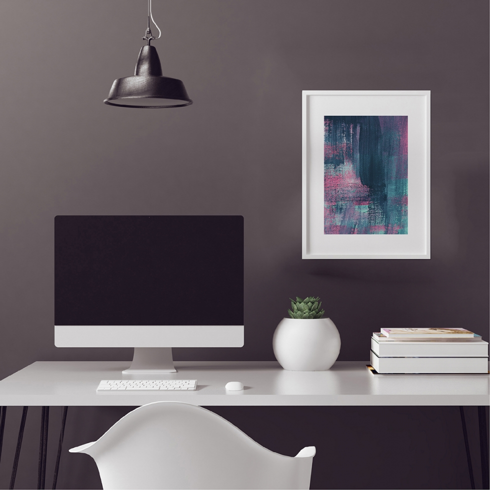 Abstract Fine Art Print - Pink Denim 2 by Charlie Albright | Moments by Charlie | Creative Abstract Artist, Photographer and Blogger | Made in Adelaide, Australia