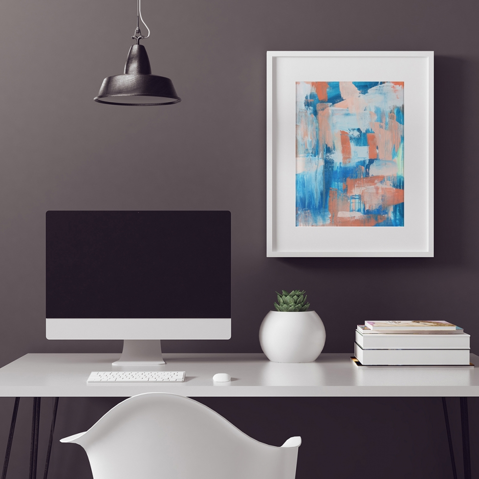 Abstract Fine Art Print - Ocean by Charlie Albright | Moments by Charlie | Creative Abstract Artist, Photographer and Blogger | Made in Adelaide, Australia