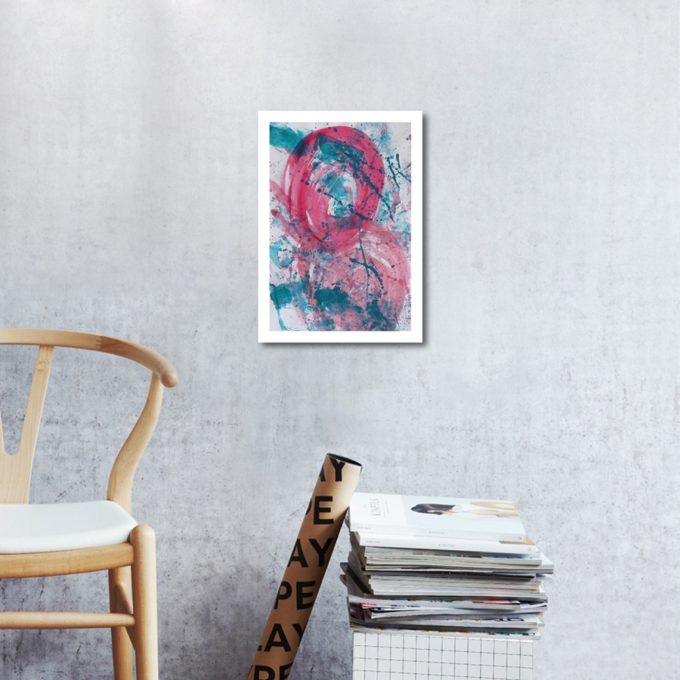 Abstract Acrylic Art On Paper - Render Me Special 2 by Charlie Albright   Moments by Charlie   Creative Abstract Artist, Photographer and Blogger   Made in Adelaide, Australia