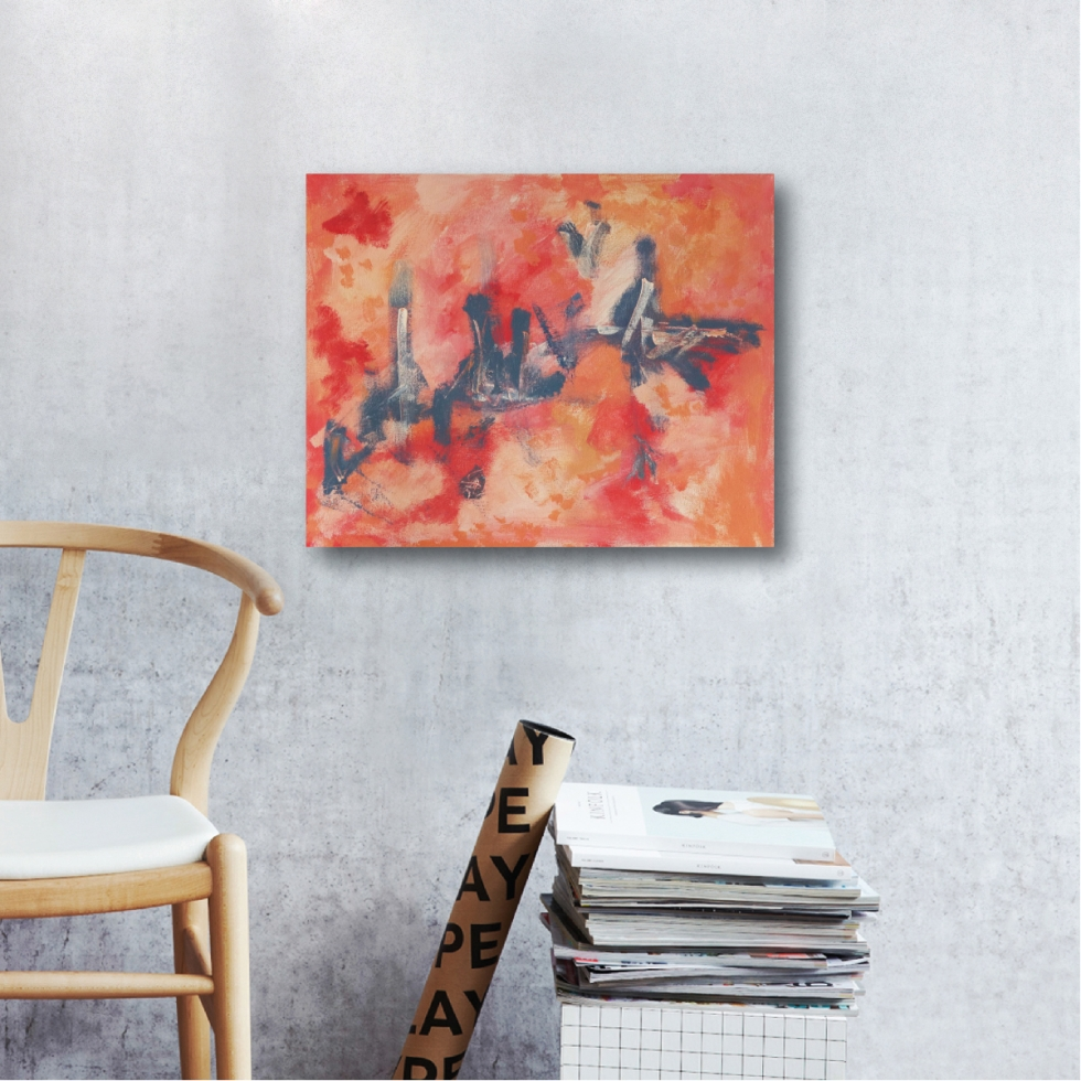 Abstract Acrylic Canvas Art - Cityscape by Charlie Albright | Moments by Charlie | Creative Abstract Artist, Photographer and Blogger | Made in Adelaide, Australia