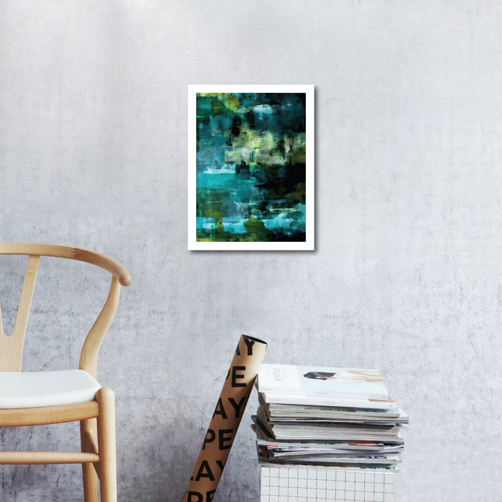 Abstract Fine Art Print - Lake Lobethal by Charlie Albright | Moments by Charlie | Creative Abstract Artist, Photographer and Blogger | Made in Adelaide, Australia