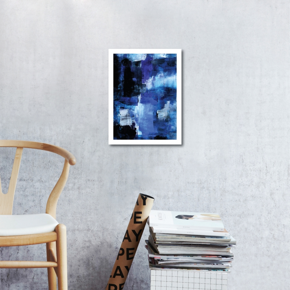 Abstract Fine Art Print - When Night Falls 2 by Charlie Albright | Moments by Charlie | Creative Abstract Artist, Photographer and Blogger | Made in Adelaide, Australia