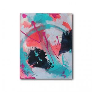 Abstract Acrylic Canvas Art - Mellow 2 - Movement Collection by artist Charlie Albright | Moments by Charlie | Creative Visual Artist, Photographer and Blogger | Made in Adelaide, Australia