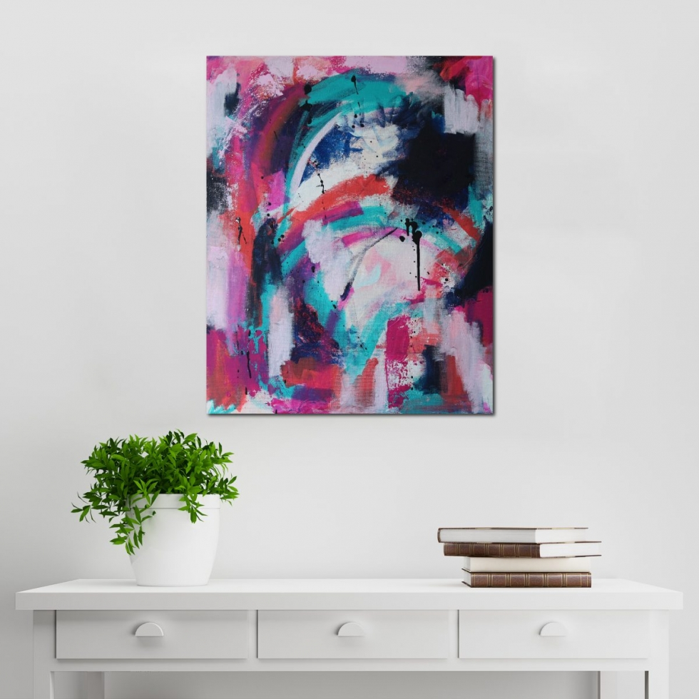 Abstract Acrylic Canvas Art - Movements in C Major - Movement Collection by artist Charlie Albright | Moments by Charlie | Creative Visual Artist, Photographer and Blogger | Made in Adelaide, Australia