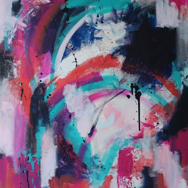 Abstract Acrylic Canvas Art - Movements in C Major - Movement Collection by artist Charlie Albright   Moments by Charlie   Creative Visual Artist, Photographer and Blogger   Made in Adelaide, Australia