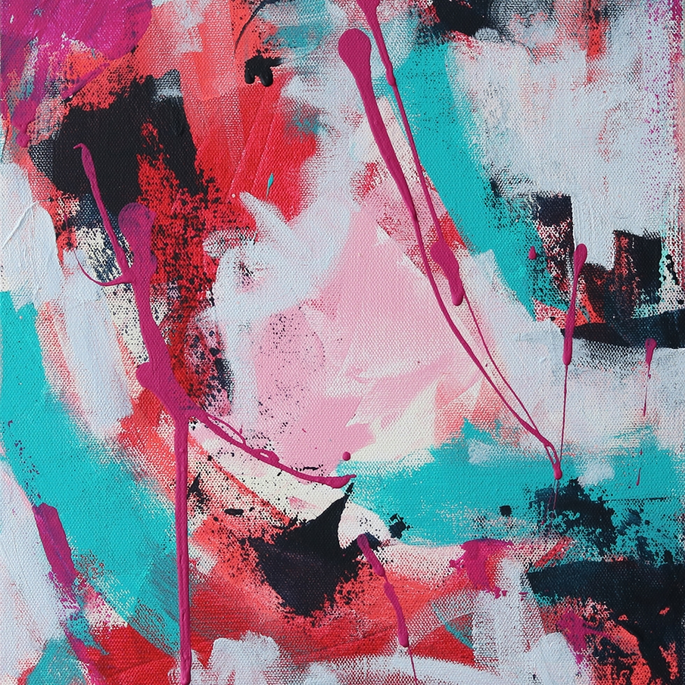 Abstract Acrylic Canvas Art - The Journey - Movement Collection by artist Charlie Albright   Moments by Charlie   Creative Visual Artist, Photographer and Blogger   Made in Adelaide, Australia