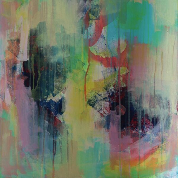 Abstract Art Titled Where You Want To Go By Creative Visual Artist Charlie Albright | SALA 2018 Collection - Chasing Dancing Colours | Moments by Charlie Online Shop | Adelaide, South Australia