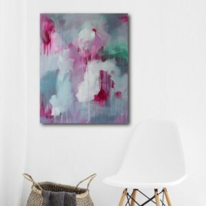 Abstract Canvas Art Titled Light Touch By Creative Visual Artist Charlie Albright | Moments by Charlie Blog - Online Shop - Creative Freelance Services | Adelaide, South Australia