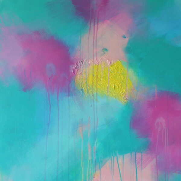 Abstract Canvas Art Titled Bright Flow By Creative Visual Artist Charlie Albright | Moments by Charlie Blog - Online Shop - Creative Freelance Services | Adelaide, South Australia