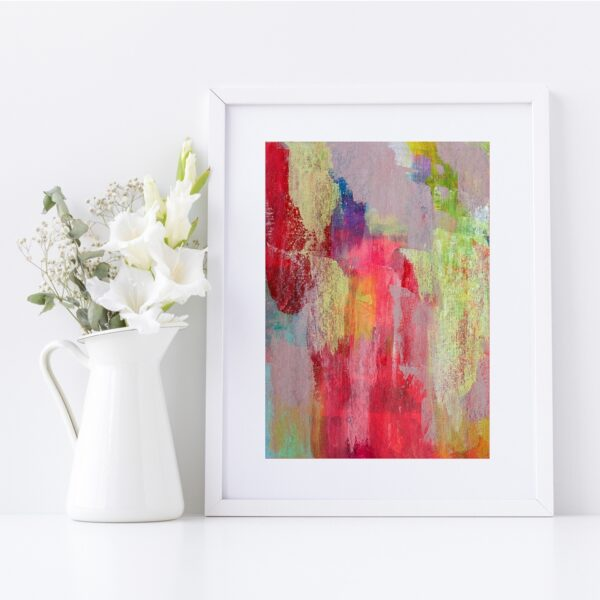 Abstract Fine Art Giclee Print Titled Earthy Soul 1 in Size A4   By Adelaide Abstract Artist Charlie Albright   Moments by Charlie Blog - Online Shop - Creative Freelance Services   Adelaide, South Australia