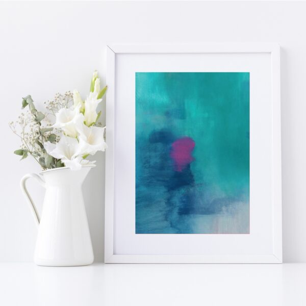 Abstract Fine Art Giclee Print Titled Isabella's Son 4 in Size A4 | By Adelaide Abstract Artist Charlie Albright | Moments by Charlie Blog - Online Shop - Creative Freelance Services | Adelaide, South Australia