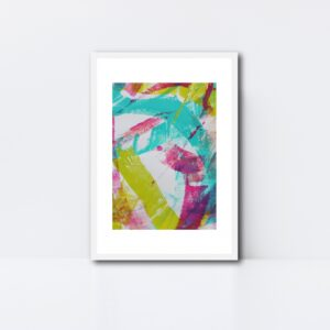 Abstract Art Framed Original On Art Paper Titled Reignite 3 | By Adelaide Abstract Artist Charlie Albright | Moments by Charlie Blog - Online Shop - Creative Freelance Services | Adelaide, South Australia