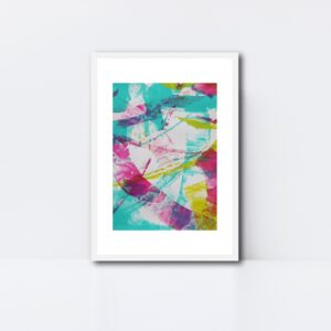 Abstract Art Framed Original On Art Paper Titled Reignite 4 | By Adelaide Abstract Artist Charlie Albright | Moments by Charlie Blog - Online Shop - Creative Freelance Services | Adelaide, South Australia