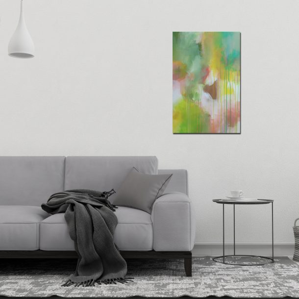 """Abstract Canvas Art Titled Guide Me Through A Path Not Travelled By Adelaide Abstract Artist Charlie Albright 