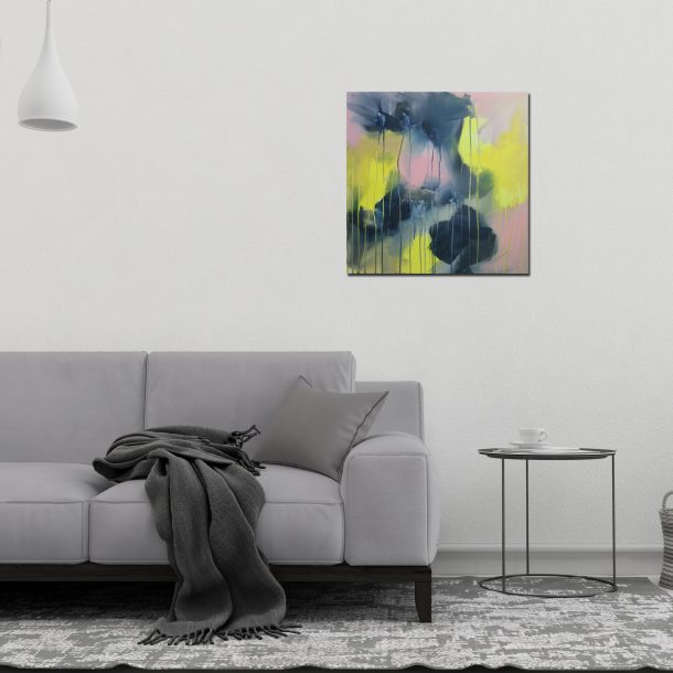 """Abstract Canvas Art Titled Shadows In The Light By Adelaide Abstract Artist Charlie Albright 