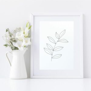 Original Drawing On Paper - Framed Titled You Are Beautiful 1 | By Adelaide Abstract Artist Charlie Albright | Moments by Charlie Blog - Online Shop - Creative Freelance Services | Adelaide, South Australia