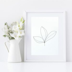 Original Drawing On Paper - Framed Titled You Are Beautiful 2 | By Adelaide Abstract Artist Charlie Albright | Moments by Charlie Blog - Online Shop - Creative Freelance Services | Adelaide, South Australia