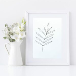 Original Drawing On Paper - Framed Titled You Are Beautiful 4 | By Adelaide Abstract Artist Charlie Albright | Moments by Charlie Blog - Online Shop - Creative Freelance Services | Adelaide, South Australia