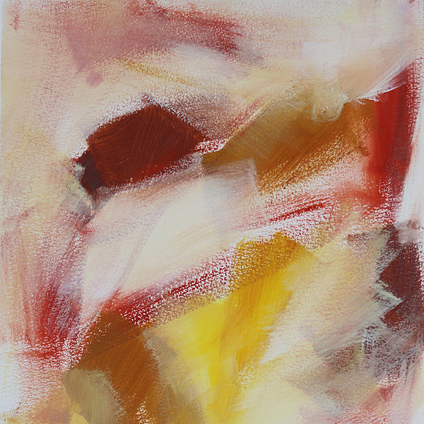 Abstract Art On Paper Titled Grounded by Australian Abstract Artist Charlie Albright | Size A3 Unframed | Moments by Charlie Website - Online Shop | Adelaide, South Australia