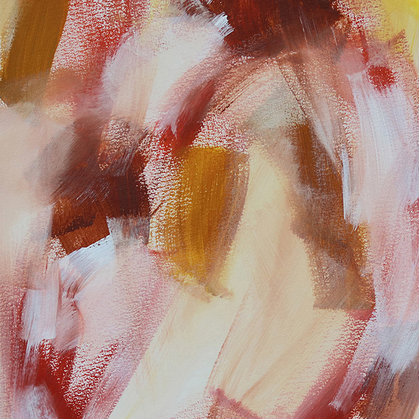 Abstract Art On Paper Titled Infinite Reflections by Australian Abstract Artist Charlie Albright | Size A3 Unframed | Moments by Charlie Website - Online Shop | Adelaide, South Australia