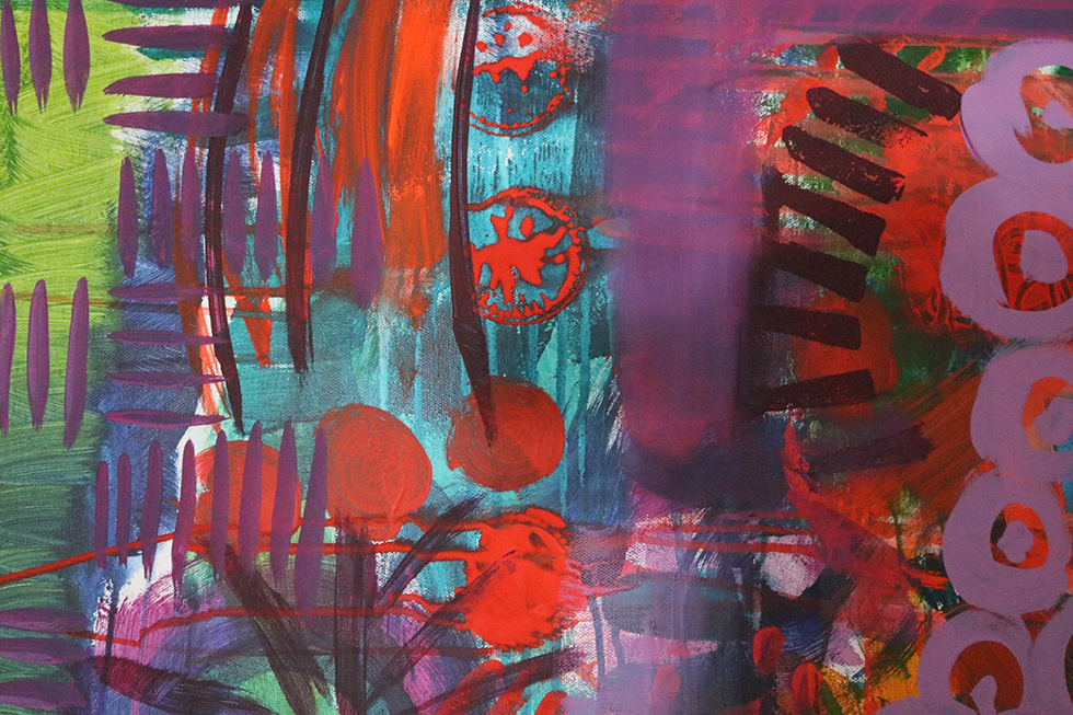 Journal – Day 10 of 100 Days of Abstract Painting