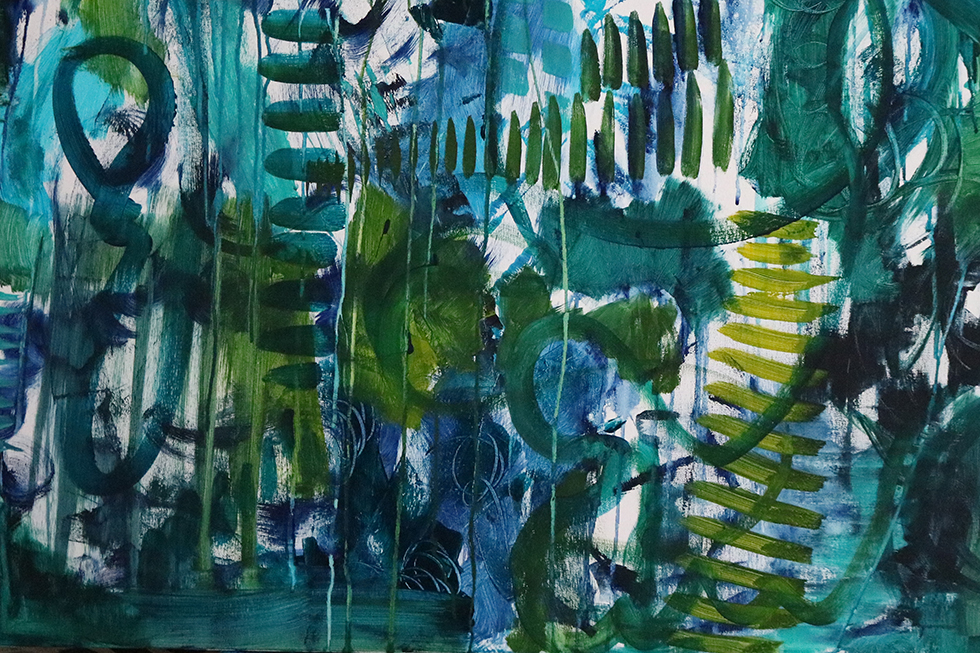Journal – Day 8 of 100 Days Of Abstract Painting