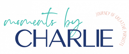 Moments by Charlie Website Logo | Journey of Creative Pursuits by South Australian artist Charlie Albright
